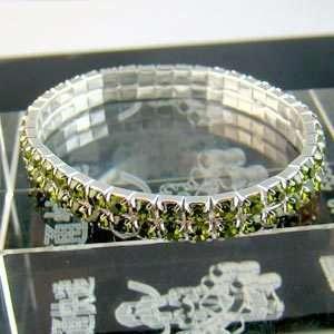 C3123 Unique Wedding Rhinestone Crystal Bangle Bracelet