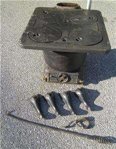 ANTIQUE MOGUL 295 CAST IRON COAL WOOD STOVE LAKESIDE FOUNDRY COOKING