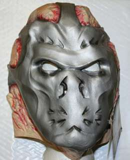 Adult Jason X Mask. Over the head latex mask. One Size Fits Most