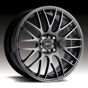 18 x8 MSR 045 0453 Gray Wheels Rims 4 5 Lug