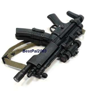 Scale Hot Toys SWAT Team MP5 Machine Gun