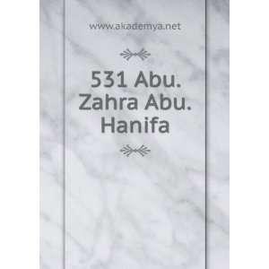 531 Abu.Zahra Abu.Hanifa www.akademya.net Books
