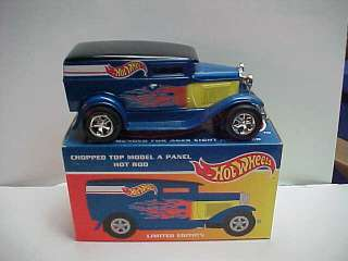 NEW Ford MODEL A PANEL HotWheels 1/25 HOT ROD BANK