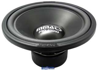 P2.0 12  MMATS P2.0 SUB 12 350 WATT BASS SUBWOOFER NEW