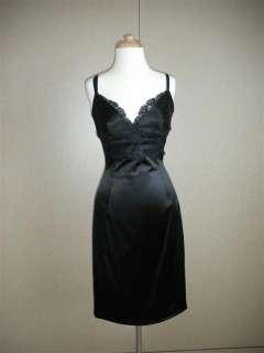 Dolce & Gabbana Black Lace Dress with Bra Size 46