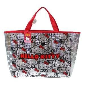 Silver W/ Hello Kitty Print Design   Sanrio Hello Kitty