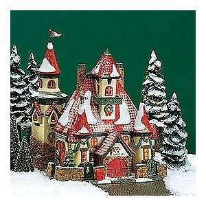Department 56 North Pole Route 1, North Pole Home Of Mr & Mrs Claus