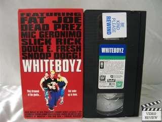 Whiteboyz VHS Danny Hoch, Mark Webber, Snoop Dogg
