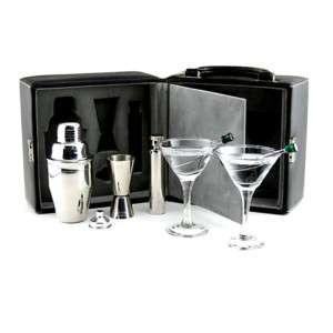 Martini Travel Bar Set with Case   Cocktail Kit 845033002030
