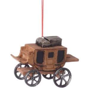 Stage Coach Ornament   2 3/4T, 3 3/4L: Sports & Outdoors