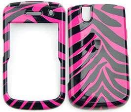 Cover Case for BlackBerry TOUR 9630 Zebra Hot Pink