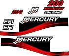 MERCURY 200 EFI OUTBOARD DECAL KIT, BLUE & 150 175 250 HPS AVAILABLE
