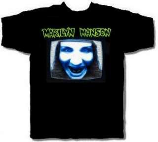 MARILYN MANSON cd cvr GET YOUR GUNN Manson TV Official SHIRT XL new