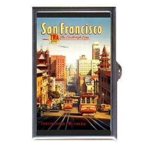 SAN FRANCISCO RETRO TROLLEY Coin, Mint or Pill Box Made