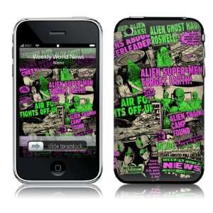 WWN10001 iPhone 2G 3G 3GS  Weekly World News  Aliens Skin: Electronics