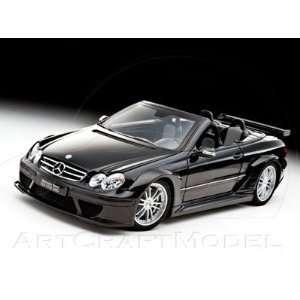 Mercedes Benz CLK DTM AMG Street version Cabriolet Black