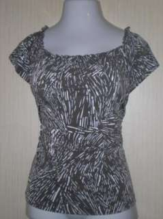 WOMENS LADIES YVOS PEASANT TOP BLOUSE SHIRT FROM DRESS BARN SIZE 14/16