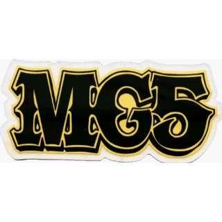 MC5   Black & Yellow Logo   Sticker / Decal Automotive