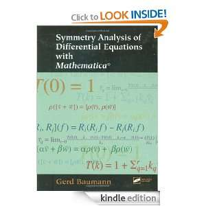 Analysis of Differential Equations with Mathematica [Kindle Edition