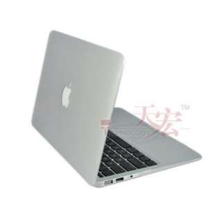 Clear Crystal Hard Case Full Cover Skin for Macbook Air 11.6