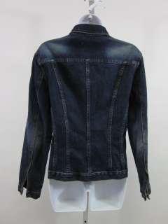 FOR JOSEPH Dark Blue Denim Jean Jacket Sz M