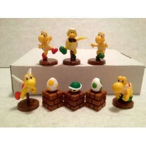 Super Mario Mini Figures Case of 8pcs Set Toys & Games