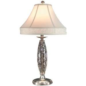 Dale Tiffany GT70415 Irvington Table Lamp, Polished Chrome