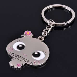 Pair Charms Cute Lovers Mushroom Key Chain Key Ring Gift Free