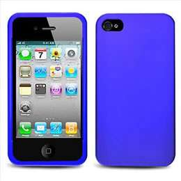 Apple iPhone 4S Sprint Verizon AT&T Black Rubberized Hard Case Cover