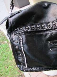 bag purse handbag SATCHEL pocketbook hobo black jet set satchel 181344