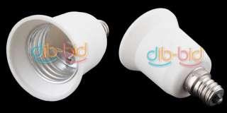 E12 to E27 Base LED Light Lamp Bulb Adapter Converter