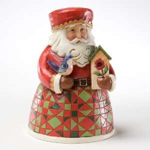Jim Shore Heartwood Creek Santa with Birdhouse *NEW 2011*