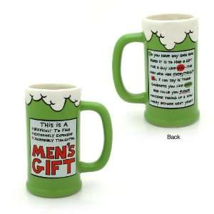 Our Name is Mud   Mens Gift Ceramic Beer Stein by Enesco