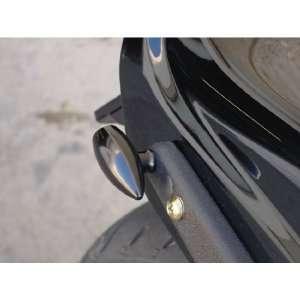 Joker Machine 05 52A Black Bullet Style LED Marker Light for Harley