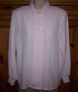 Ladies YVES ST. CLAIR Brand Dress Shirt Top Size 10