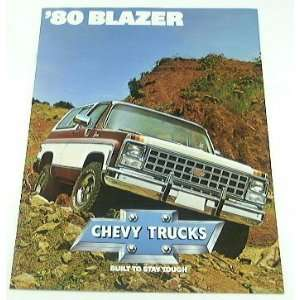 1980 80 Chevrolet Chevy BLAZER Truck BROCHURE C10 K10