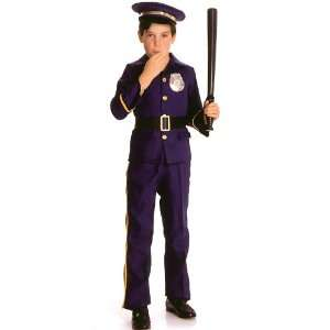 Officer Costume Child Small 4 6 Law Enforcement Uniform Toys & Games