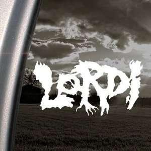Lordi Decal Metal Rock Band Car Truck Window Sticker