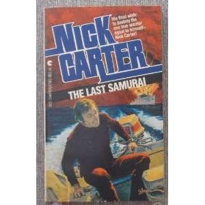 The Last Samurai Nick Carter 9780441471836  Books