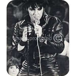 Elvis Presley Vintage Black and White Music MOUSE PAD