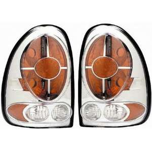 00 CHRYSLER GRAND VOYAGER ALTEZZA CRYSTAL CLEAR TAIL LIGHT