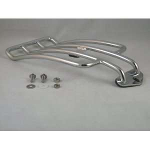 Motorcycle Chrome Luggage Rack Harley 04 UP XL custom  Frontiercycle
