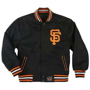 San Francisco Giants Toddler Wool Reversible Jacket by JH