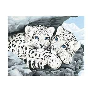 Kit 14X11 Snow Leopard Cubs 91079; 2 Items/Order