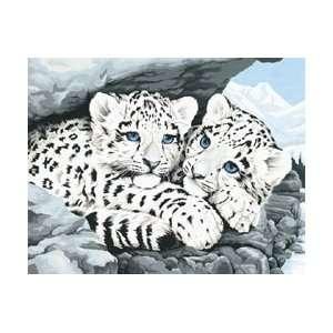 Kit 14X11 Snow Leopard Cubs 91079; 2 Items/Order