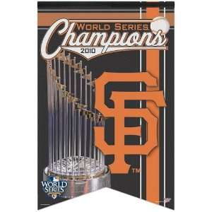 San Francisco Giants 2010 World Series Champions 17 x 26