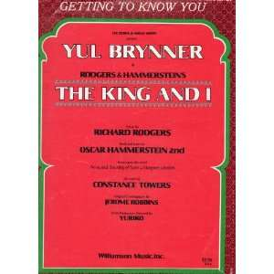 , from The King and I (with Yul Brynner) Rogers & Hammerstein Books