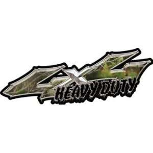 Wicked Series 4x4 Heavy Duty Truck Decals in Real Camo Automotive