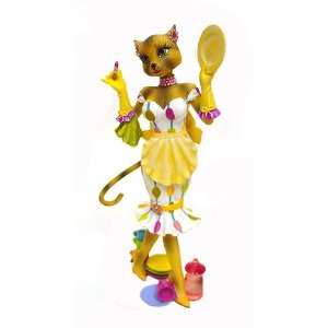 Alley Cats Kitty with Fashion Plates Domestic Diva Table