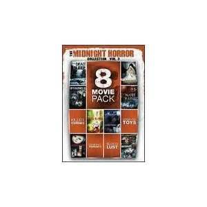 8 Movie Pack Midnight Horror Collection 3: Movies & TV